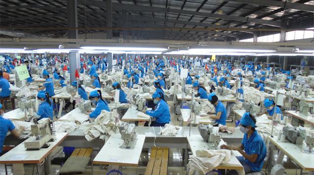 máy giặt công nghiệp cho công ty may mặc