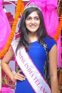 Simran Chowdary Winner of Miss India Telangana 2017 02.JPG