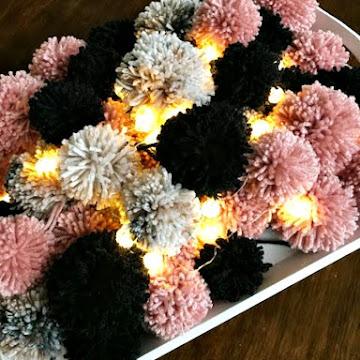 Prelude To A Pom Pom Wreath