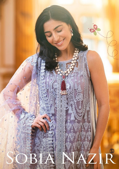 Shraddha Designer Sobia Nazir Pakistani Salwar kameez