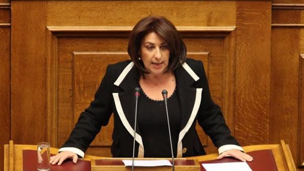 Η Τόνια Αντωνίου παίρνει την έδρα της Φώφης Γεννηματά στη Βουλή