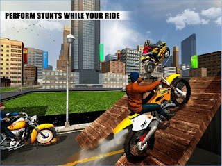 Games Crazy Bike Rider Traffic Rush App
