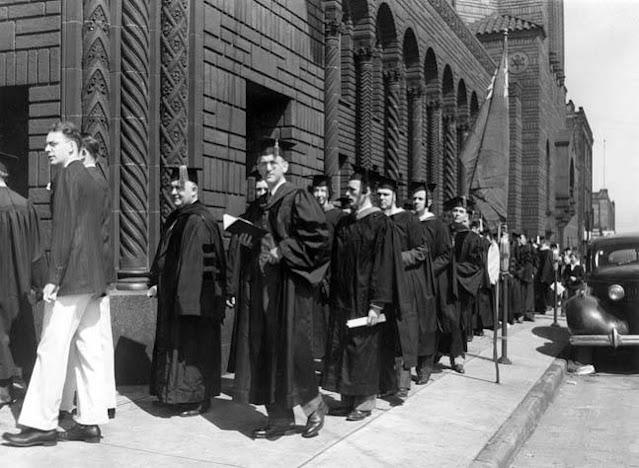 Fenn College graduation on 17 May 1942 worldwartwo.filminspector.com