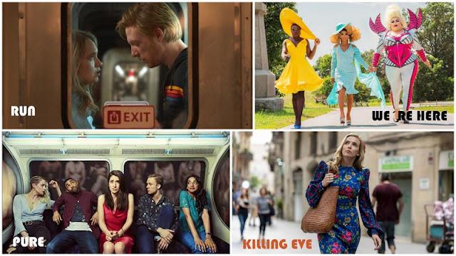 Reseña 'Run' HBO, reseña 'Killing Eve' temporada 3, reseña 'Pure', reseña 'We´re Here'