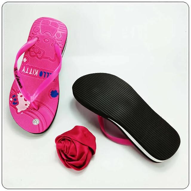 Grosirsandalmurah.Net - Sandal Wedges Anak TG - HK Tebal TG