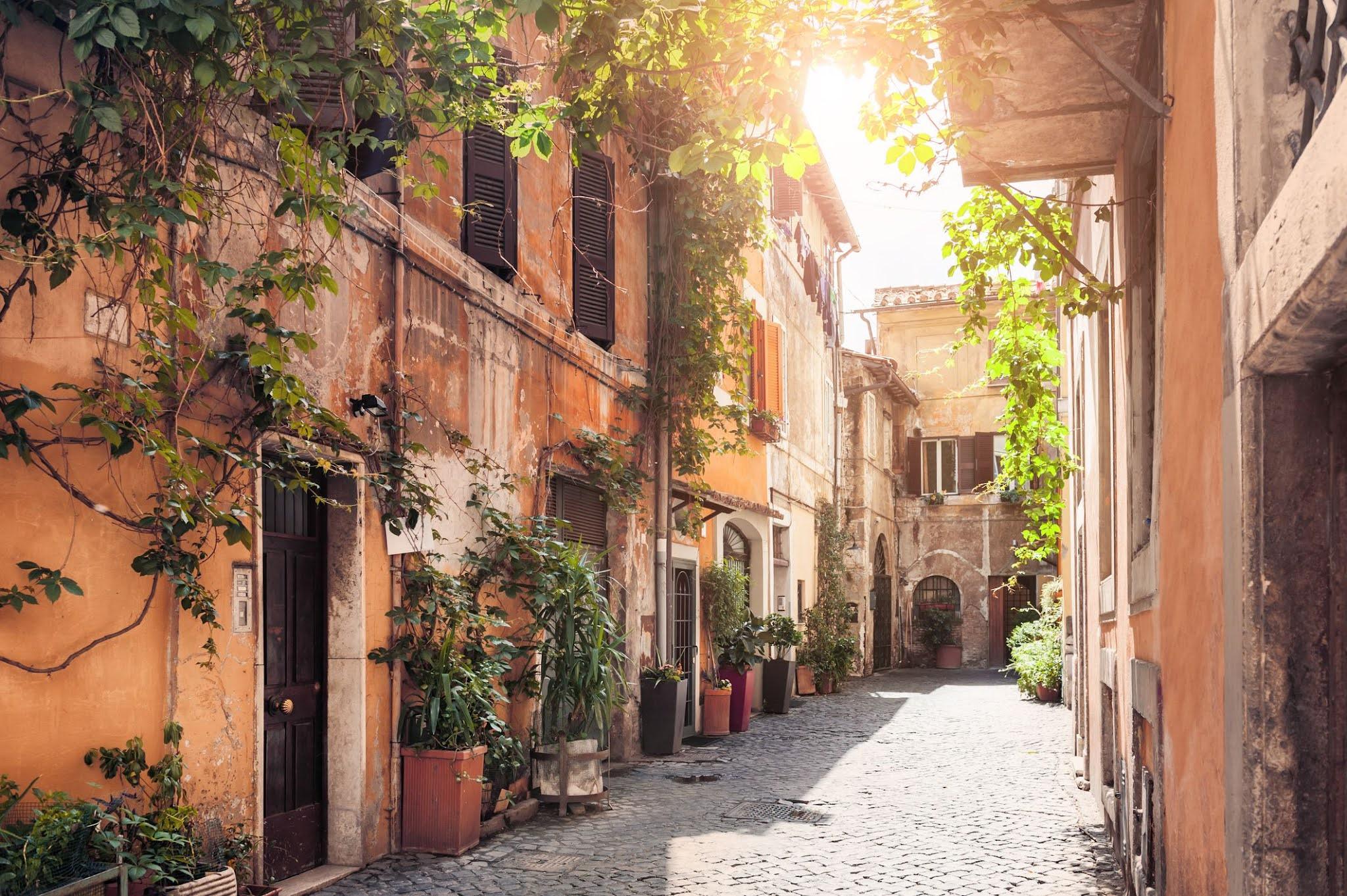 Трастевере в Риме