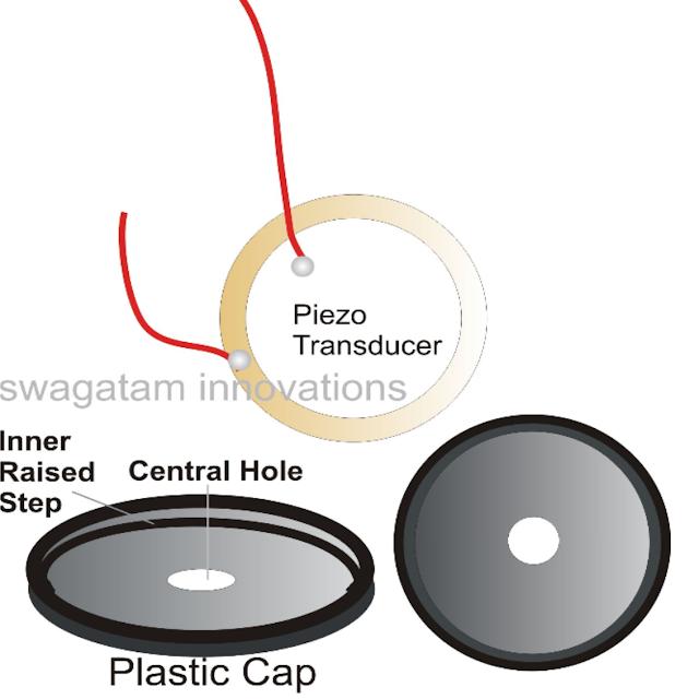 how to stick piezo for high sound output