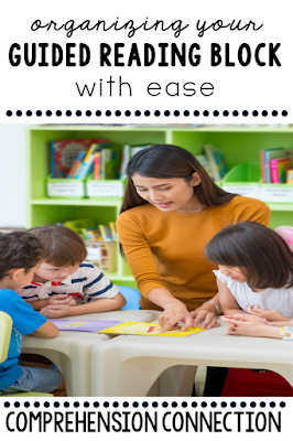 Organizing your guided reading block can be a daunting task. Which books do you use? What level do you need? What skills do we teach? This post includes ideas on scheduling, planning, and managing your ELA routine in the most streamlined way. Check it out to learn more.