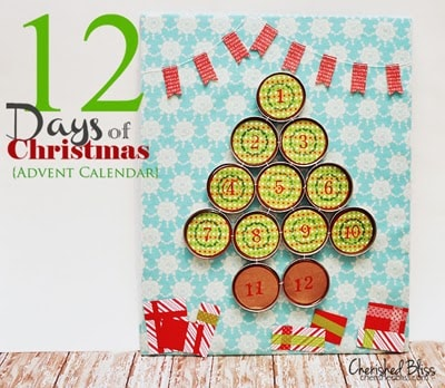 Abbreviated Advent Calendar for busy families or small kids