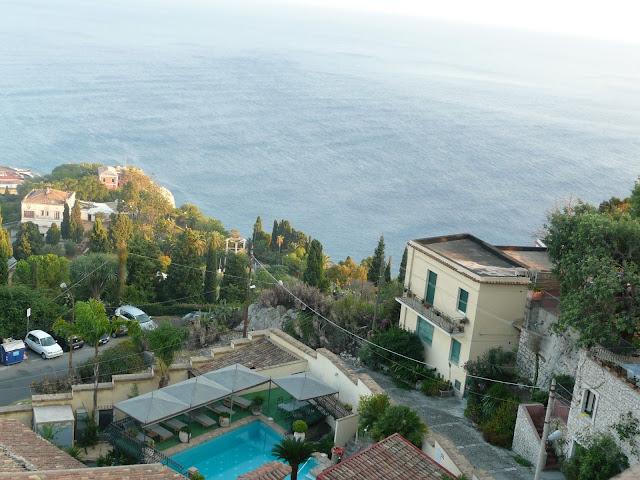 Hotel Villa Carlotta Taormina vista
