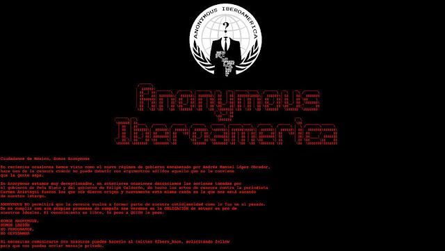 Anonymous 'hackea' el sitio del Conapred en México tras polémica sobre racismo y libertad de expresión