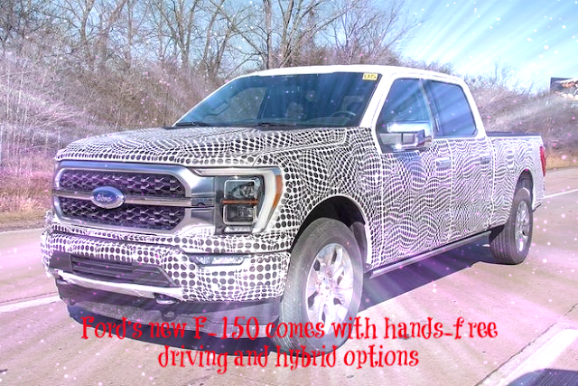 Ford's new F-150 comes with hands-free driving and hybrid options