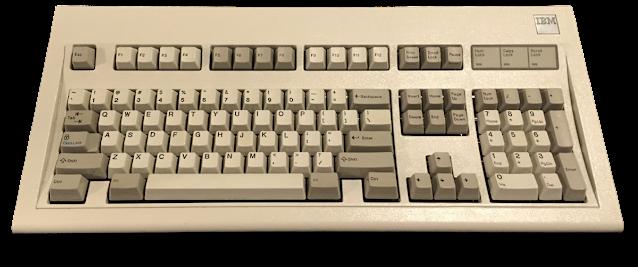 teclado ibm model m