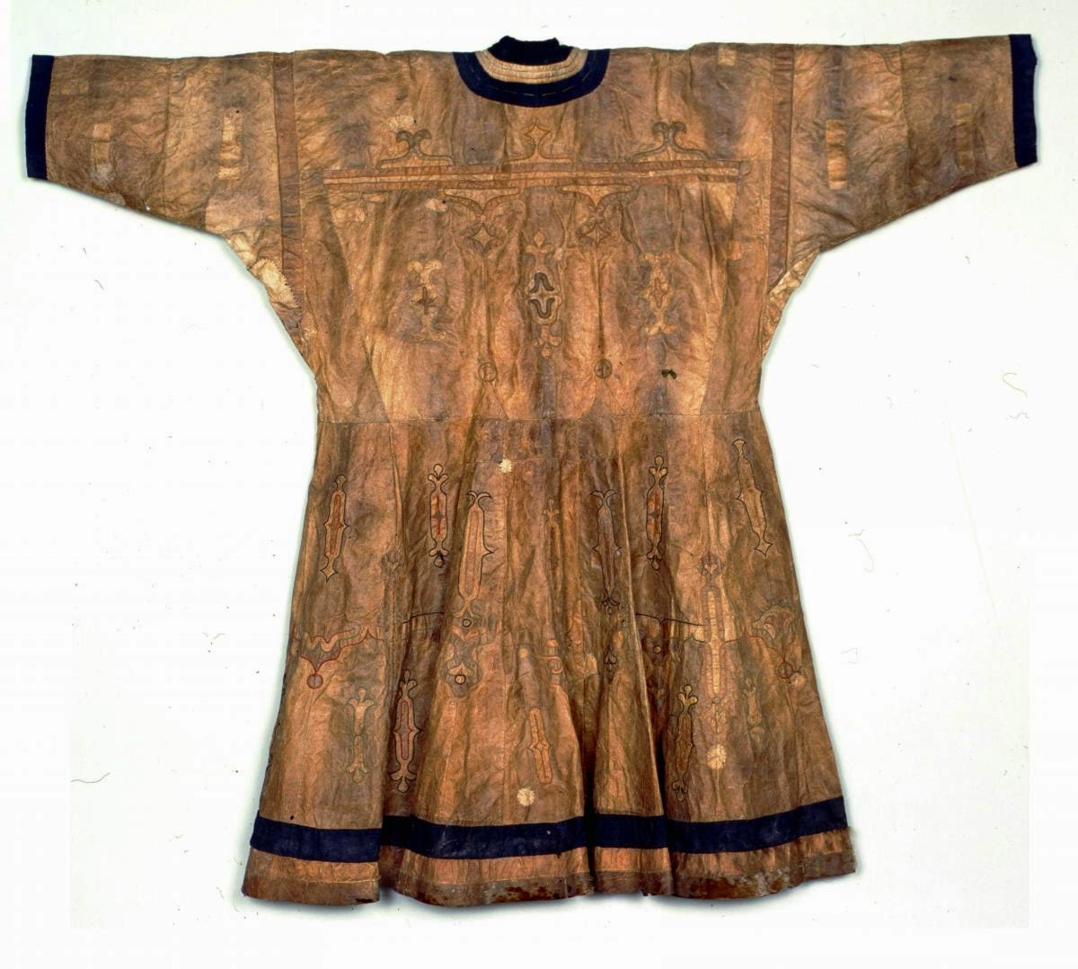 Ainu robe made from salmon skin