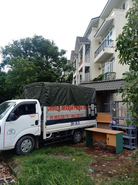 Dịch vụ vận tải chuyển dọn nhà