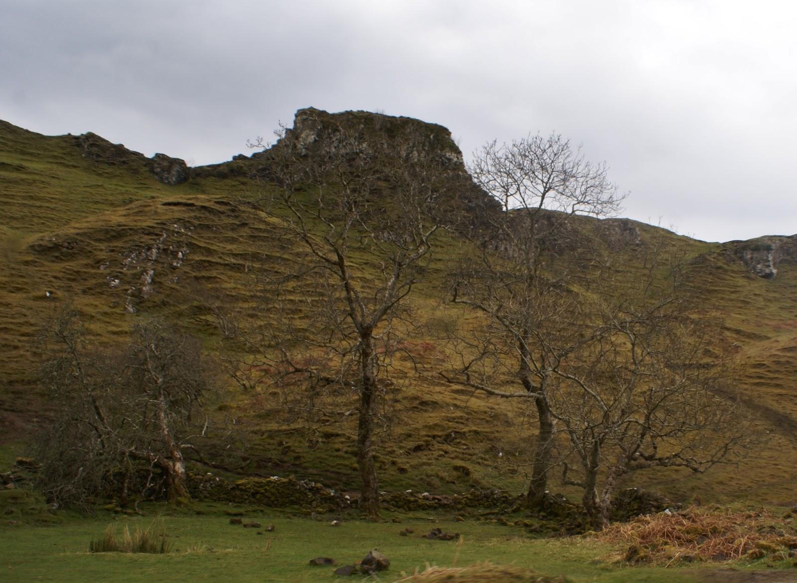fairy glen isle of skye scotland united kingdom uk