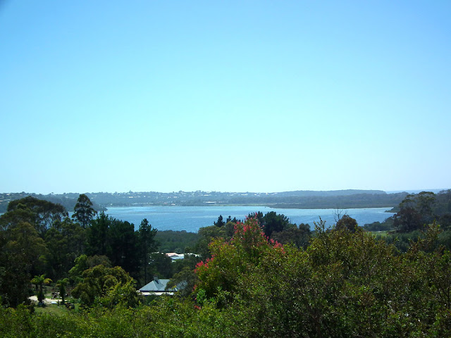 View of Merrimbula, New South Wales, Australia. Photographed by Susan Walter.