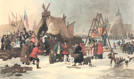 The Fair on the Thames Feb 4 1814  by Luke Clennell © Trustees of the British Museum  Used under Creative Commons (CC BY-NC-SA 4.0) licence