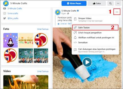 Cara Download Video Facebook di PC - 1