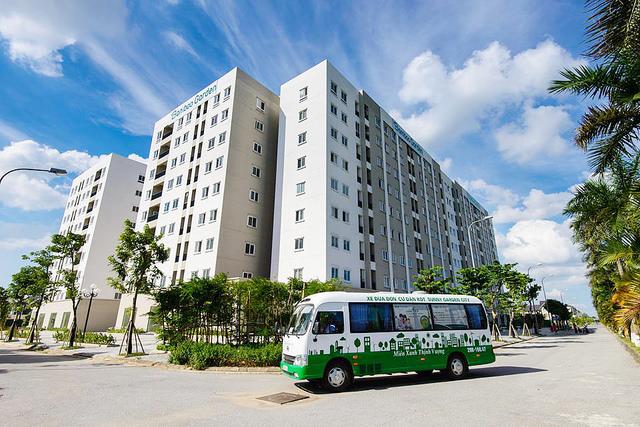 Chung cư nhà ở xã hội Bamboo Garden - Sunny Garden City