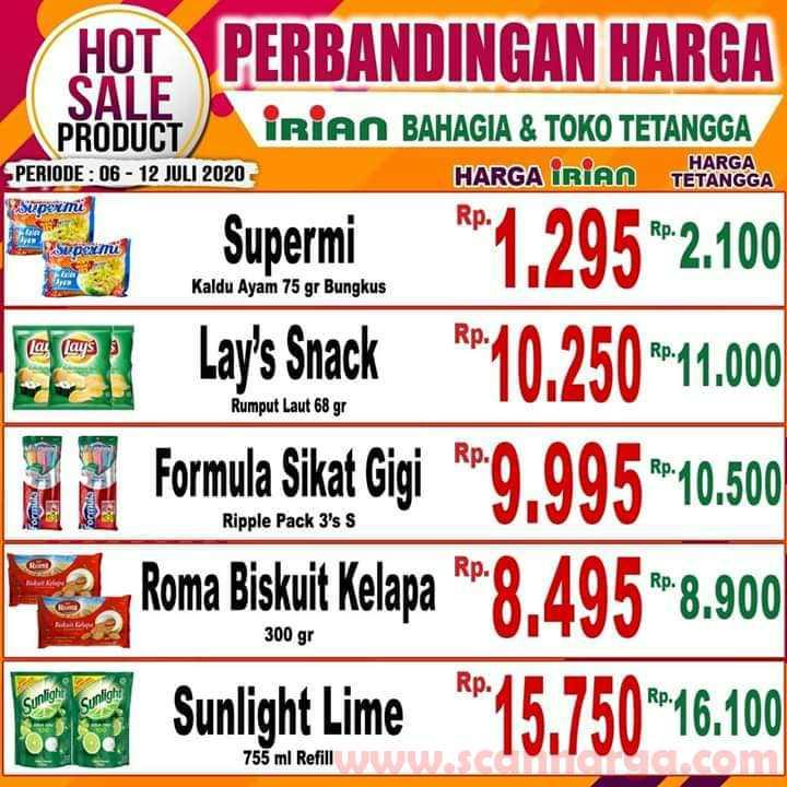 Katalog Promo IRIAN Supermarket Dan Department Store 6 - 12 Juli 2020 4