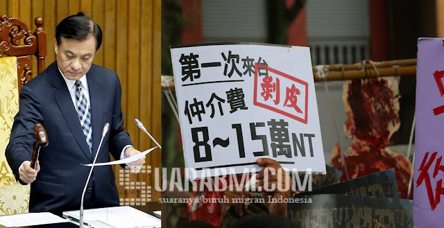 Benar - Benar Sah...! TKI Tak Usah Pulang Untuk Perpanjang Kontrak di Taiwan