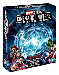 Marvel Cinematic Universe – Fase Uno Bonus Disc (BD25) – Subtitulado