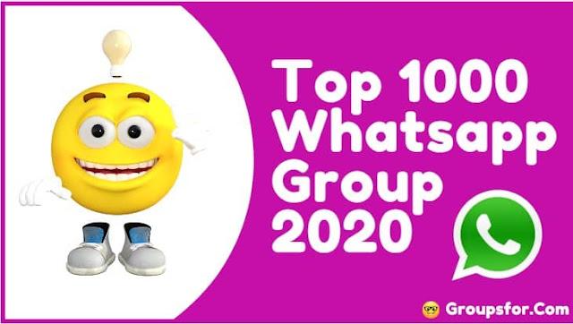 latest active whatsapp groups