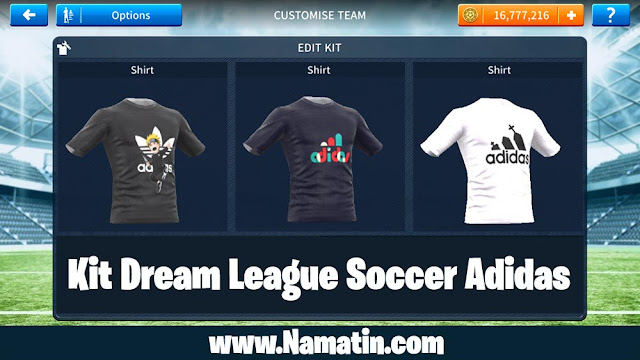 Kit Dream League Soccer Adidas
