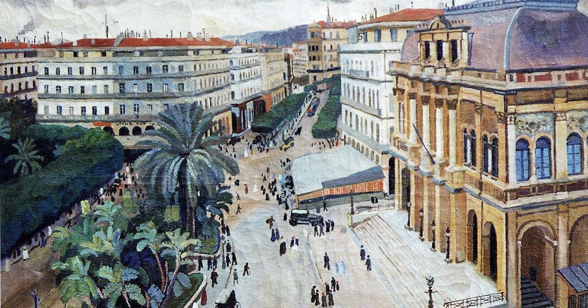 Peintures d'Algérie: L'Opéra d'Alger, 1926 - Louis Fernez