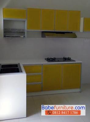 Babe furniture jasa pembuatan kitchen set cibubur 0812 for Harga pembuatan kitchen set per meter