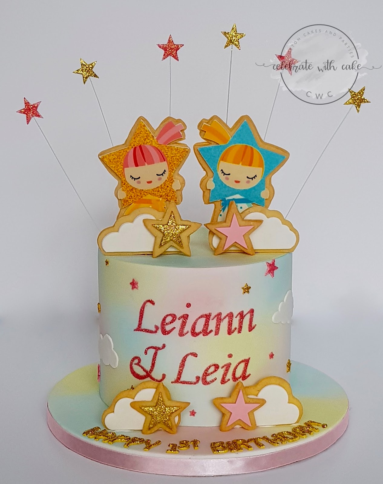 Celebrate With Cake Twinkle Twinkle Little Stars With Cookies