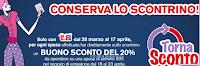 Logo Buono sconto del 20% con il TornaSconto LillaPois