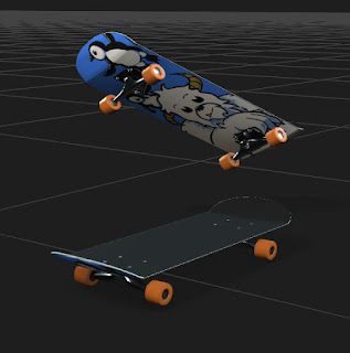 My revised Skateboard.