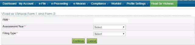 online-efiling-of-vivad-se-vishwas-forms-enabled-with-instructions