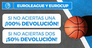 Paston promo Euroliga y Eurocup hasta 18-10-2019