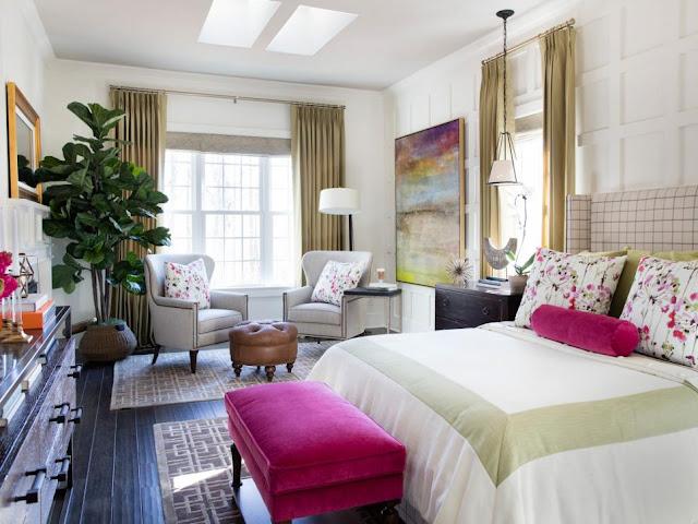 Master Bedroom in HGTV SmartHome
