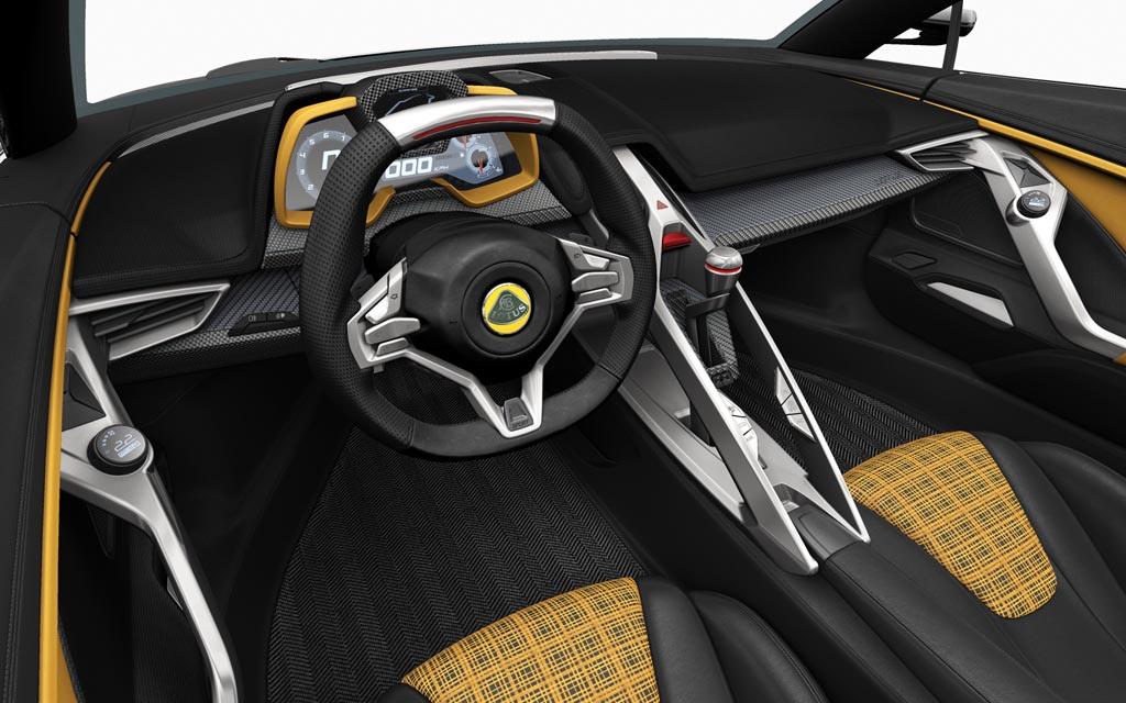 2016 Lotus Elan Concept interior