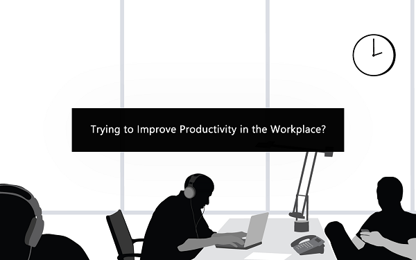 Trying to Improve Productivity in the Workplace? Try These Unconventional Methods