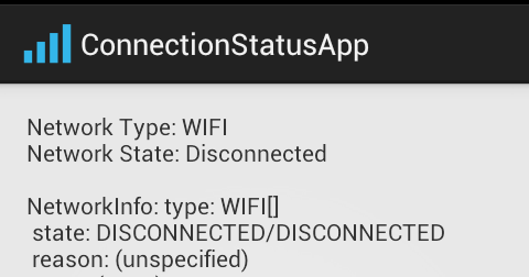 Check Network state and type | Wifi | Mobile 2G/3G |