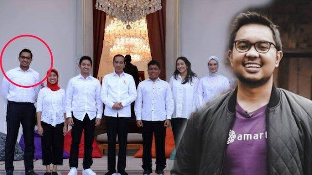 Stafsus Jokowi  Tulis perusahaan di Surat