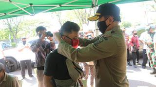 Walikota Cirebon Soalisasikan Bahaya Virus Corona Di Pusat - Pusat Pembelanjaan
