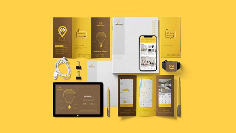 Tính nhất quán của xu hướng thiết kế bộ nhận diện thương hiệu