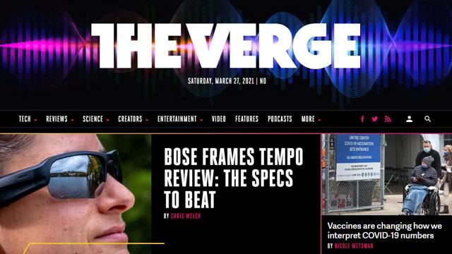 The Verge - technology blog