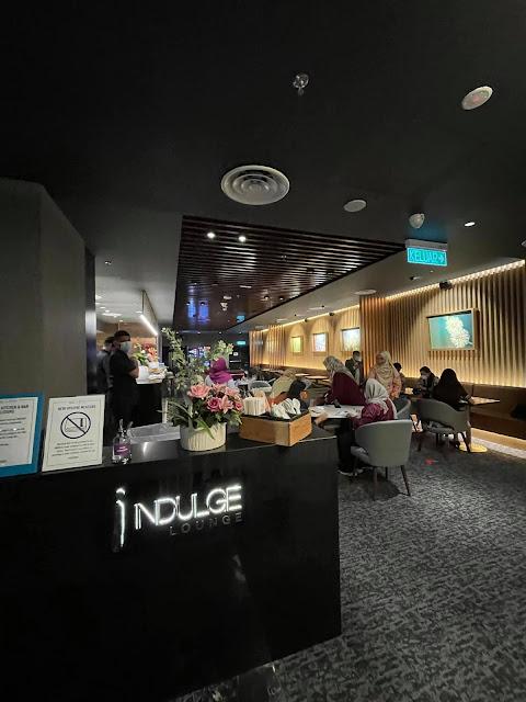 Hari Ketujuh Belas Berbuka Puasa Aku Makan Di TGV Indulge Lounge Toppen