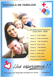 Domingo, 27-X-19, inicio de la Escuela de Familias