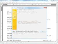 Microsoft Word Viewer screen 3