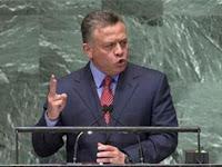 Krisis Palestina, Raja Abdullah II: Dunia Harus Bertanggungjawab