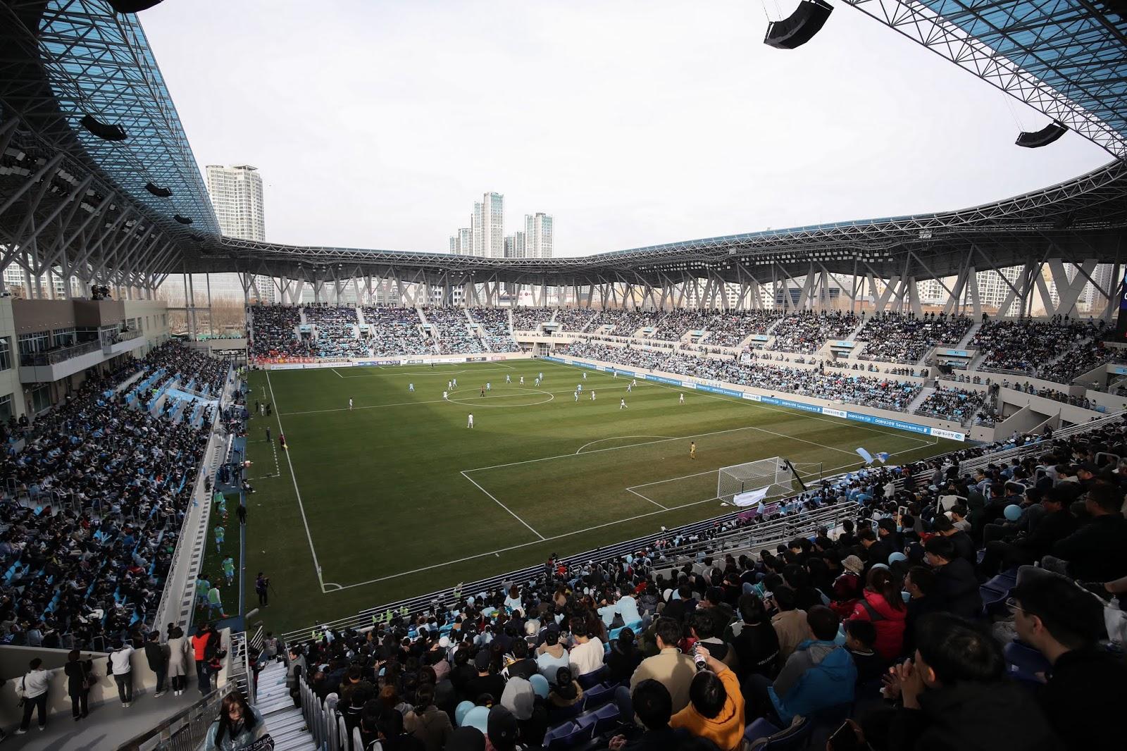 DGB Daegu Bank Park Nominated for Stadium Award