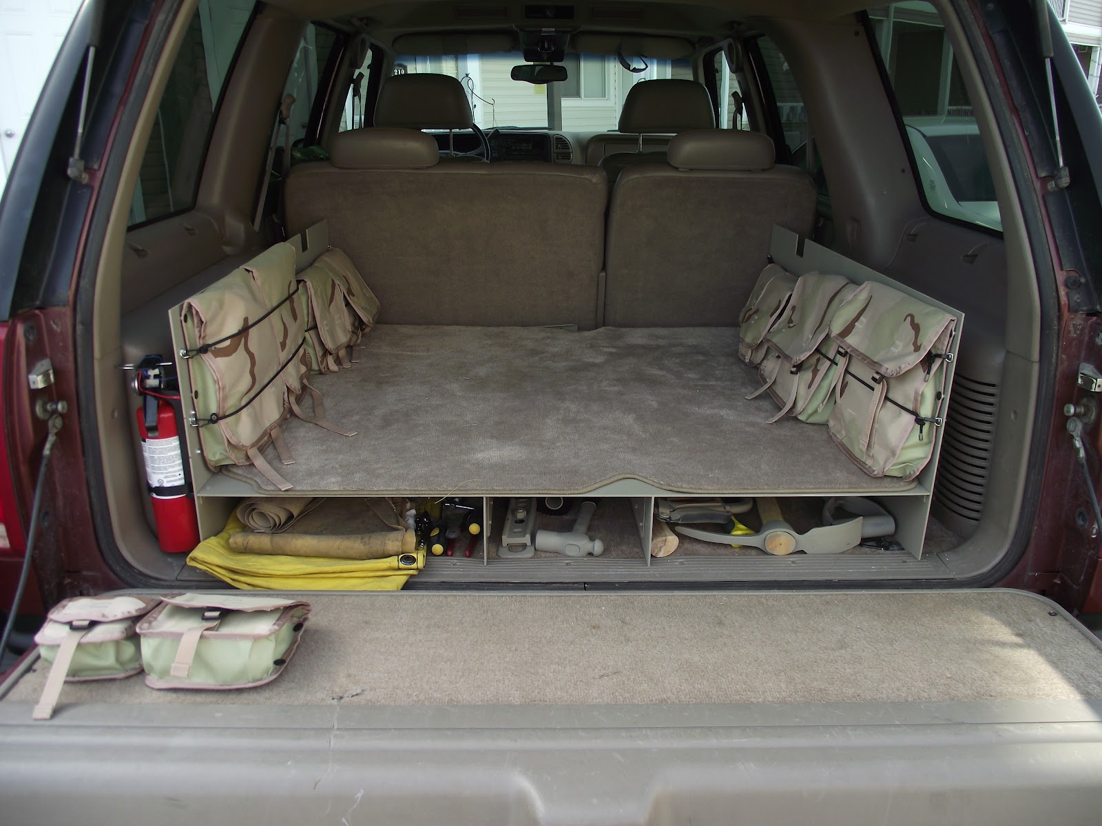 Mountainman's Mantra: Building A Cargo Organizer For My ...